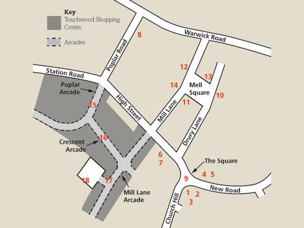 Solihull-map